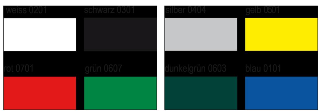 Stoff Farben Expoair